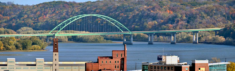 Dubuque to Wisconsin Bridge