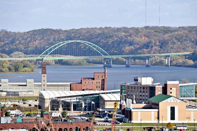 Dubuque Wisconsin Bridge